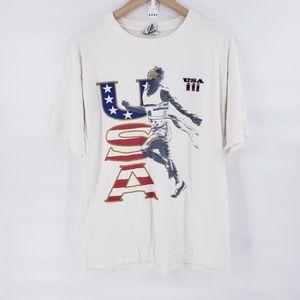 Vintage U.S.A Nutmeg T-shirt